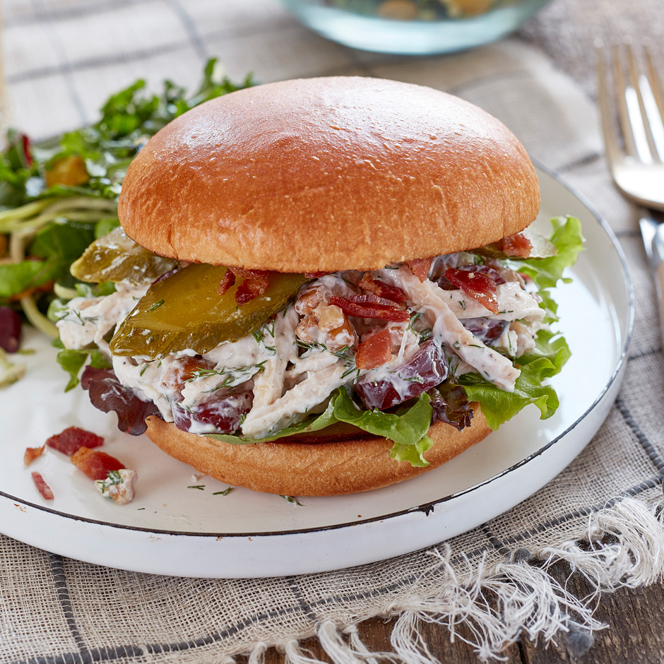 Picnic Chicken Salad Sandwich